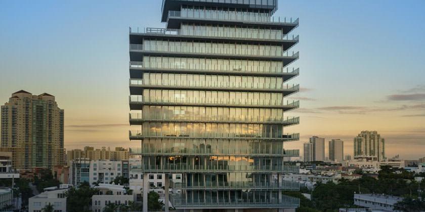 Рене Гонсалес построил в Майами небоскреб GLASS