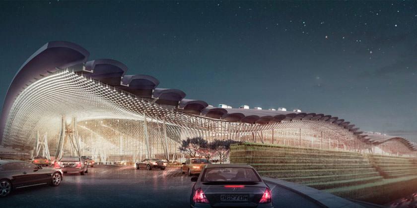 RSHP выиграла конкурс на расширение крупнейшего аэропорта Тайваня