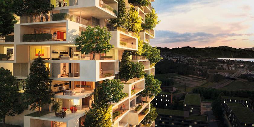 Стефано Боэри построит в Швейцарии «зеленый» небоскреб