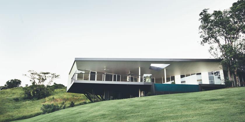 Stealth House в Австралии от Teeland Architects