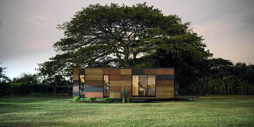 Дом с двумя спальнями и гостиной на 37 «квадратах»