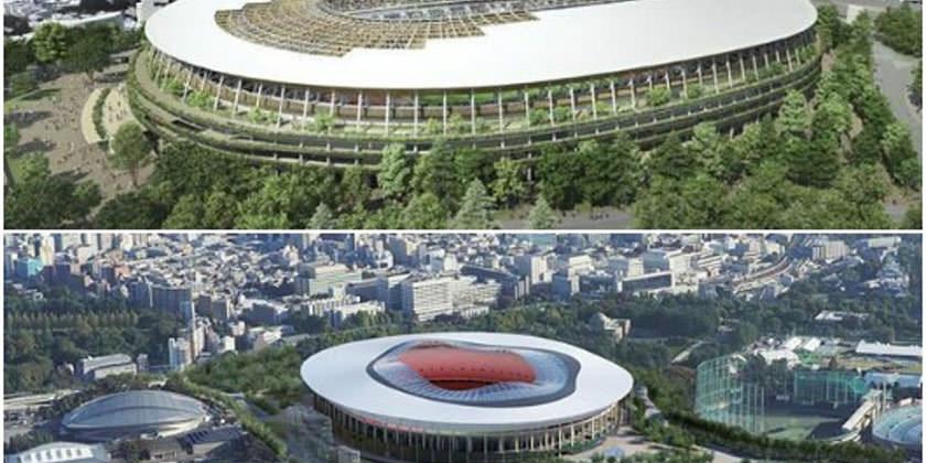 Олимпийский комитет Японии представил два проекта стадиона в Токио