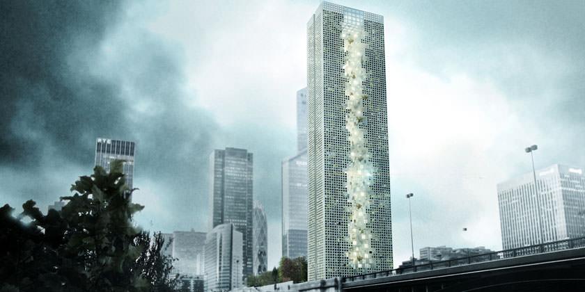 Tommaso Bernabò Silorata построит в Париже небоскреб Skyframe