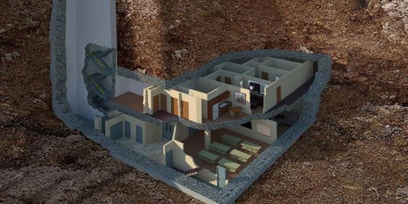 В США продаётся подземный бункер со всеми удобствами за $17,5 млн