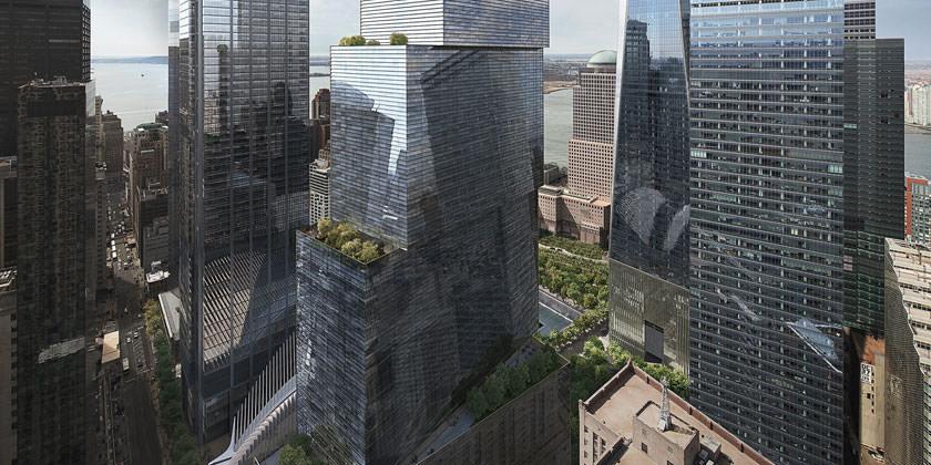 BIG построит в Нью-Йорке Всемирный торговый центр 2