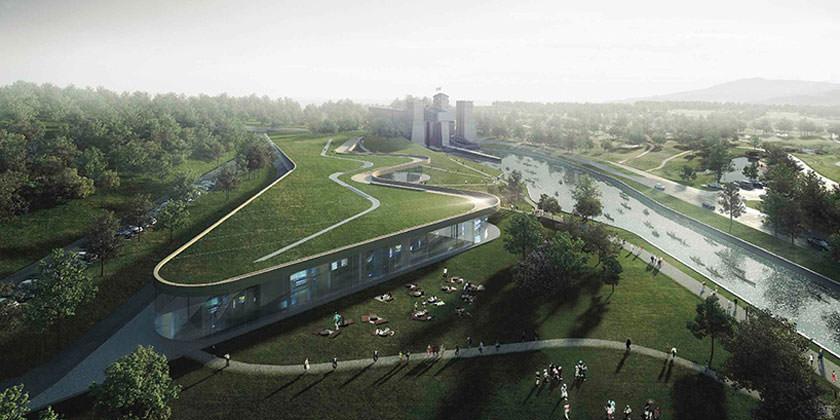 Проект Canadian Canoe Museum в Питерборо от Heneghan Peng
