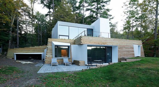 Lake house by Taylor and Miller Architecture and Design