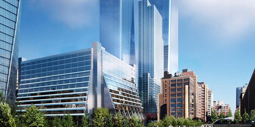 Бюро SOM построит на Манхэттене две офисные башни