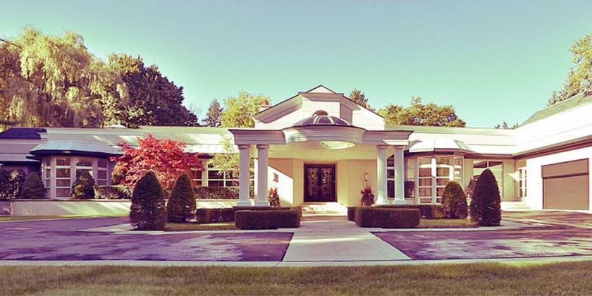 На продажу выставлен дом Принса в Торонто