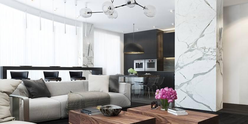 Дизайн квартир от студии FullHouseDesign