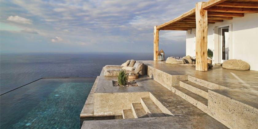 Дом на острове Сирос в Греции по проекту студии Block722