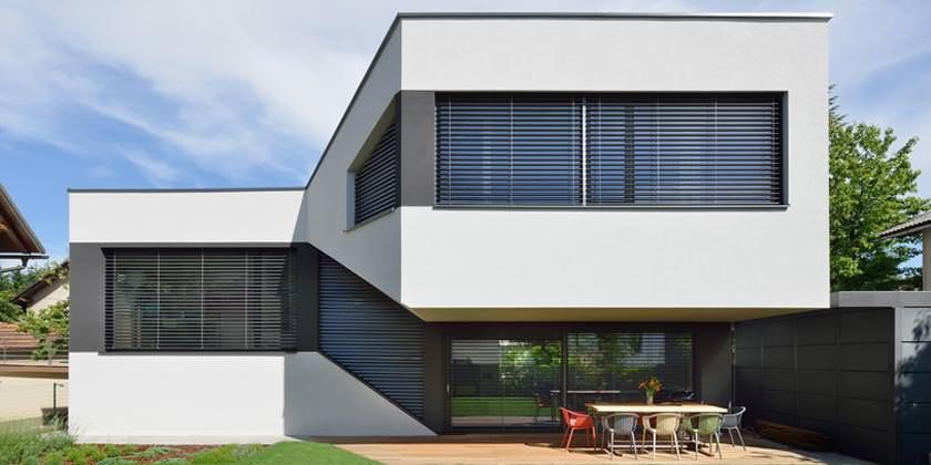 Энергоэффективный дом с мезонином в Любляне