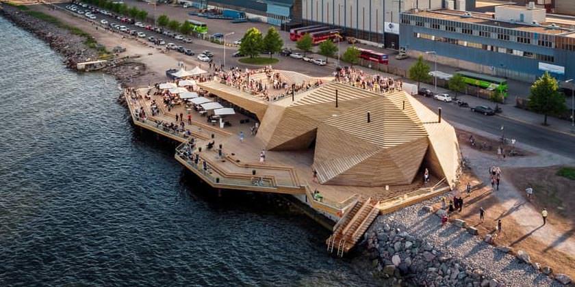 В Хельсинки открылась общественная сауна Löyly