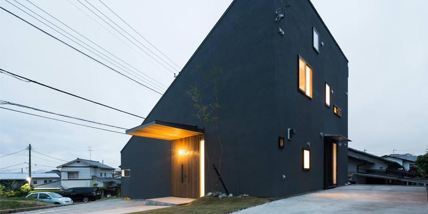 Дом в японском минимализме от Tukurito Architects