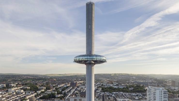 Смотровая башня British Airways i360 в Брайтоне