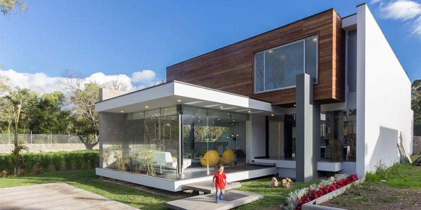 Современный модульный дом House PY от ModulARQ arquitectura