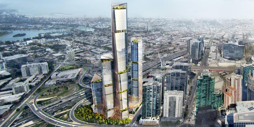Benoy спроектировал комплекс небоскребов для Мельбурна