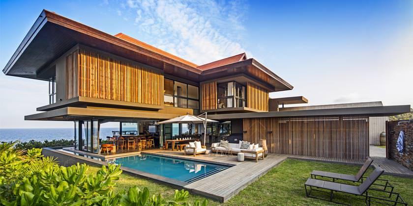 Ппляжный дом на берегу океана в ЮАР от Metropole Architects
