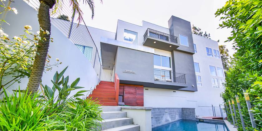 Дом Эмбер Роуз в Лос-Анджелесе за 5,1 млн долл.