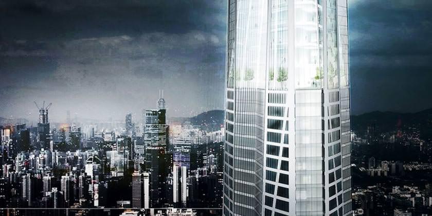 Самый высокий небоскреб Китая H700 Shenzhen Tower