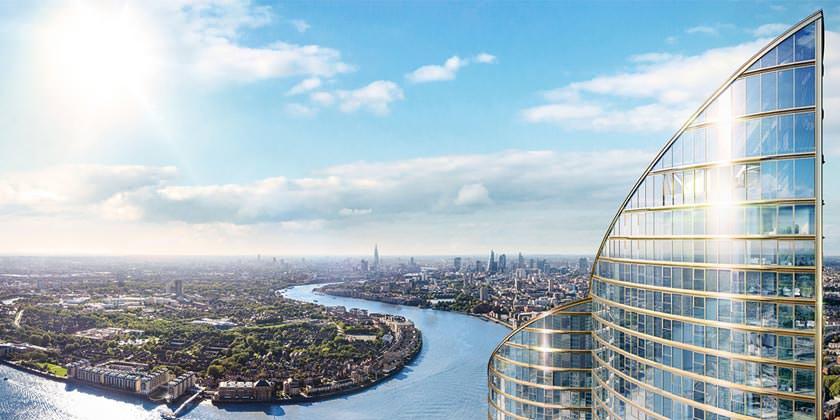 Spire London — новый самый высокий жилой небоскреб Британии