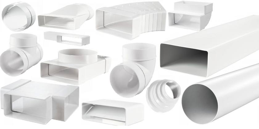 Преимущества пластиковых воздуховодов