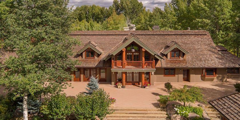 Продаётся дом Брюса Уиллиса на горнолыжном курорте Сан-Валли