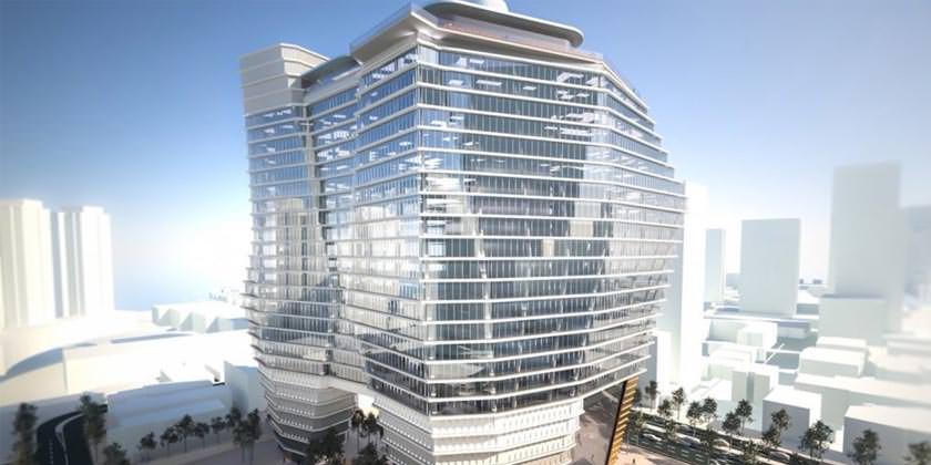 Ron Arad Architects строит самый высокий небоскреб Израиля