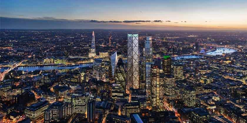 73-этажный небоскреб 1 Undershaft в Лондоне утвержден