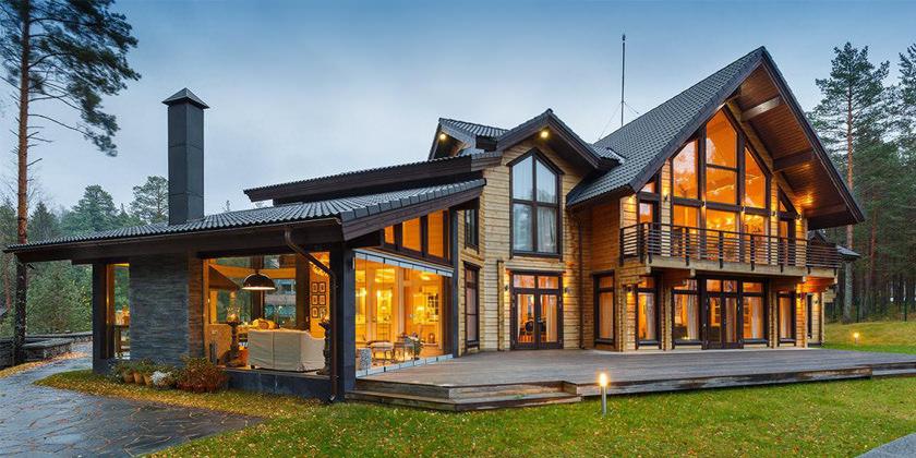 Преимущества домов из бруса. Почему стоит выбрать услугу «под ключ»?