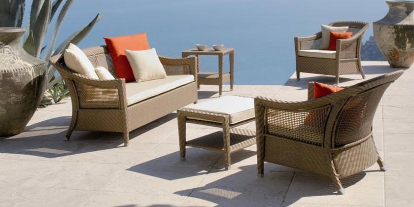Плетеная мебель — показатель вкуса и способ создания комфорта в саду