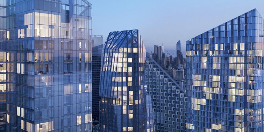 Рафаэль Виньоли, Ричард Мейер и KPF строят три небоскреба в Нью-Йорке