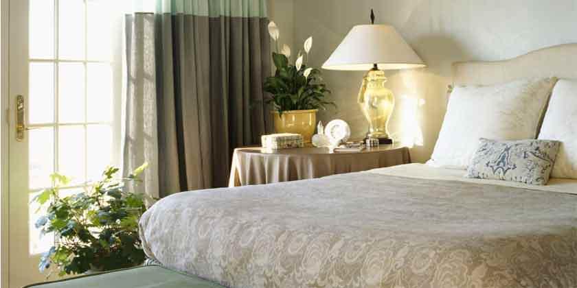 Индивидуальный пошив штор для спальни