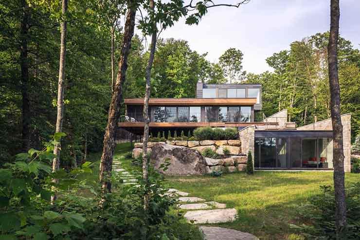 Загородный дом в Квебеке
