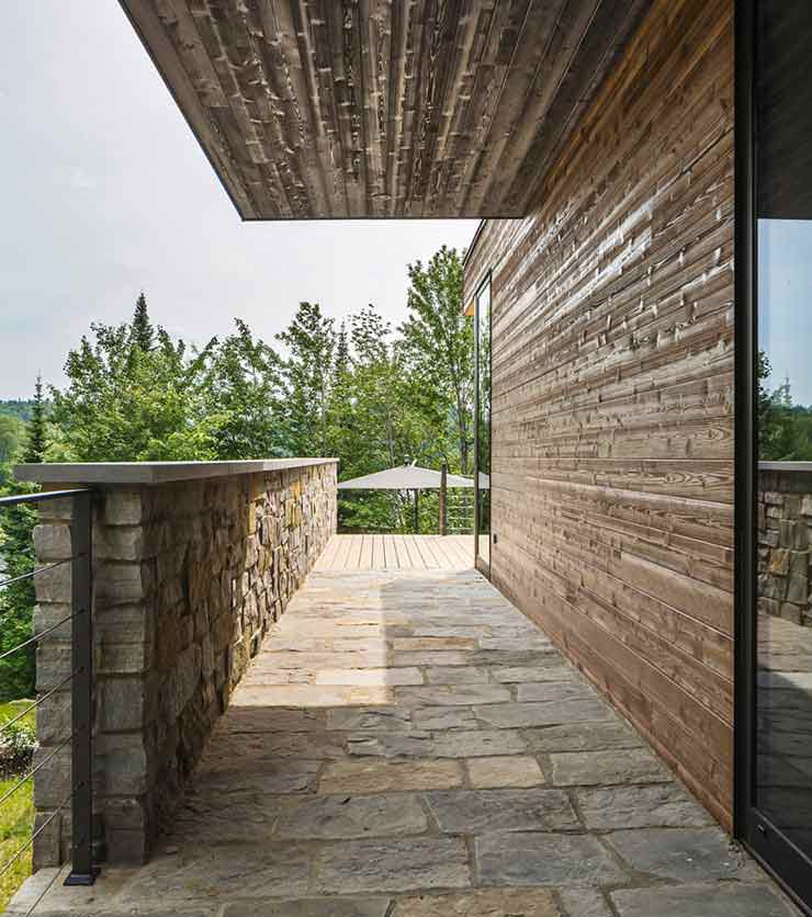 Дом в Лаврентийских горах, провинция Квебек, Канада