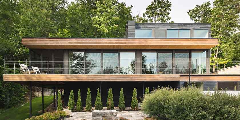Дом на опушке леса от MU Architecture