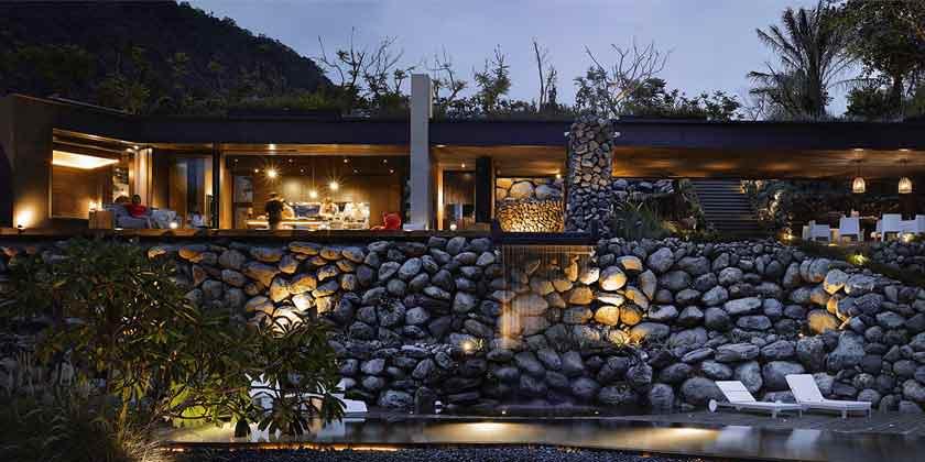 Дом с видом на океан от Create + Think Design Studio