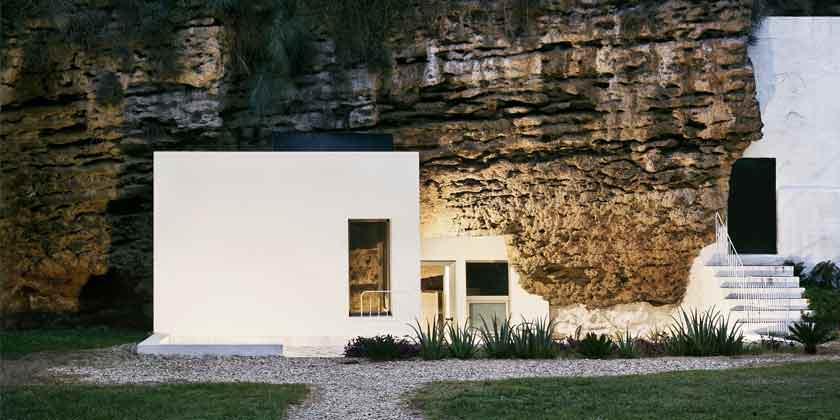 Дом в пещере в Испании. Проект UMMO Estudio | фото, обзор