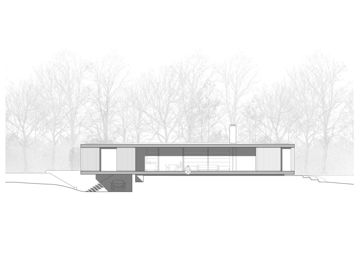 Фото | Схема каркасного дома