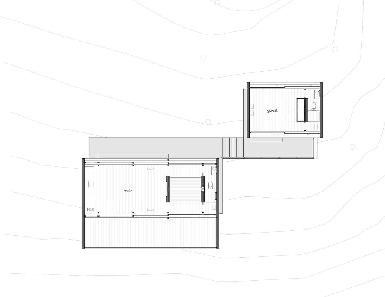 План компактного дома