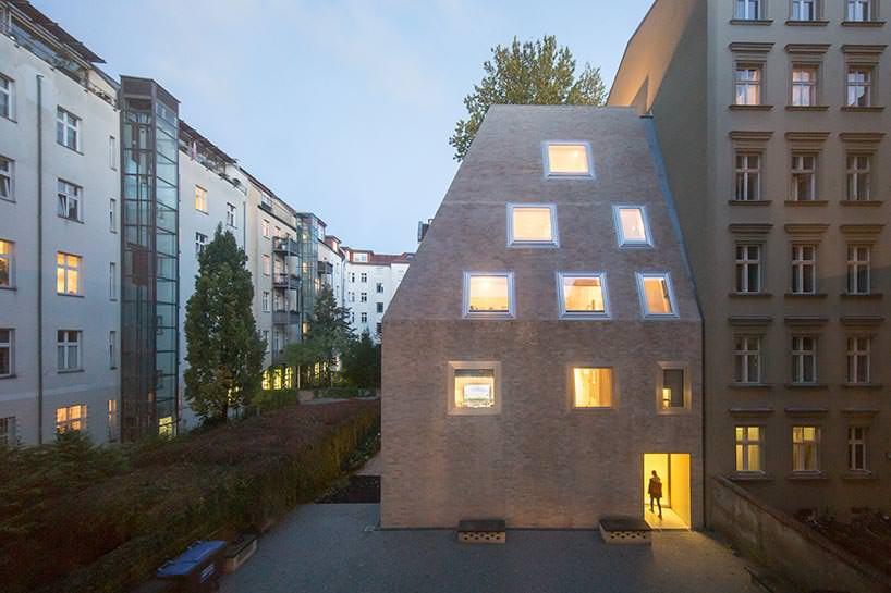 Пирамидальный дом в Берлине. Проект Barkow Leibinger