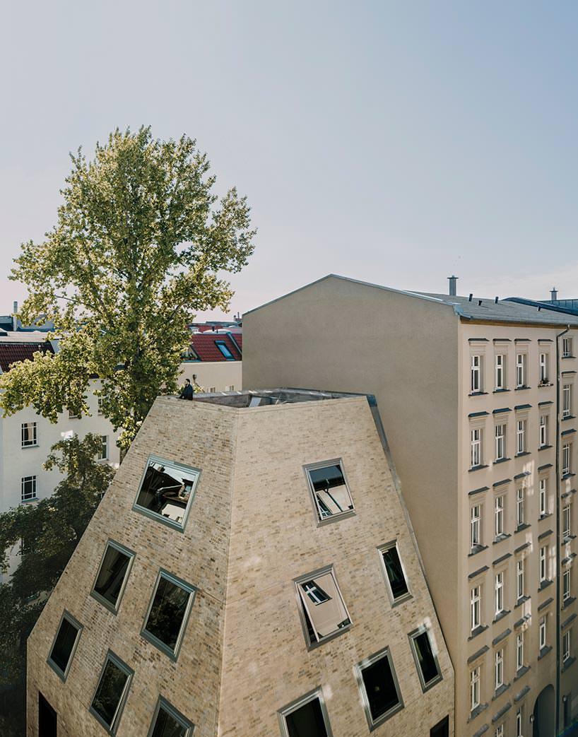 Терраса на крыше частного дома. Проект Barkow Leibinger
