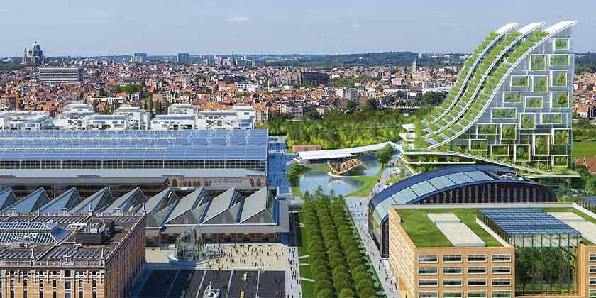 Винсент Каллебо предложил эко-квартал для центра Брюсселя