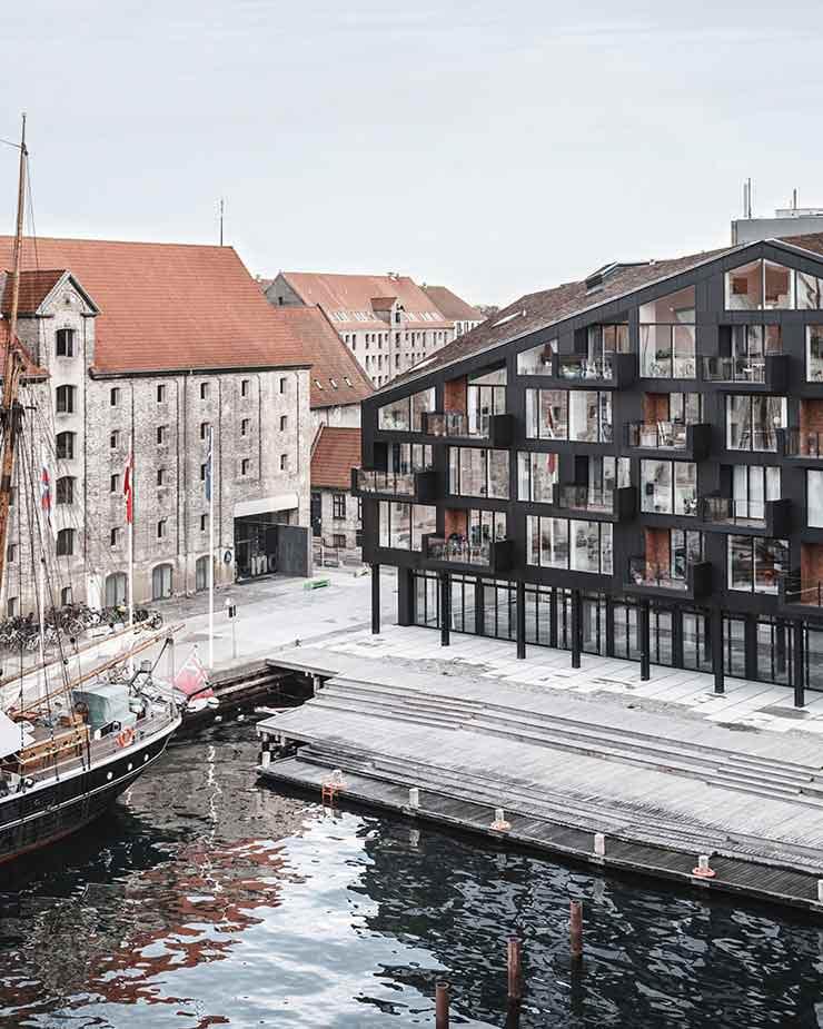 Новый ЖК у воды в Копенгагене