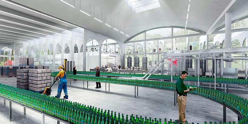 Завод стеклянных бутылок San Pellegrino