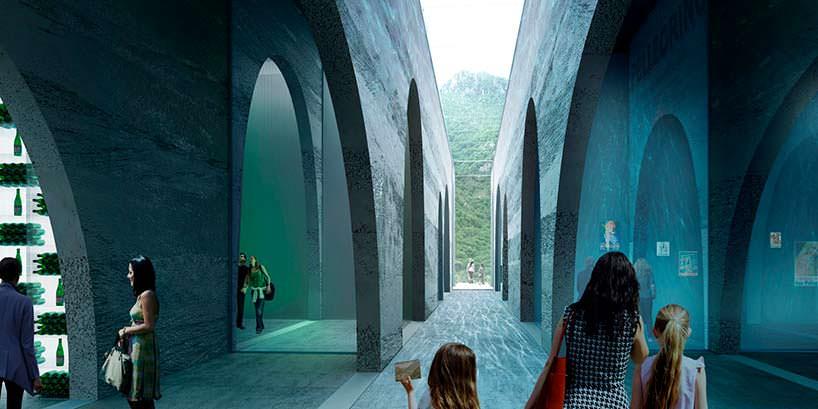 В основе дизайна арки и туннели