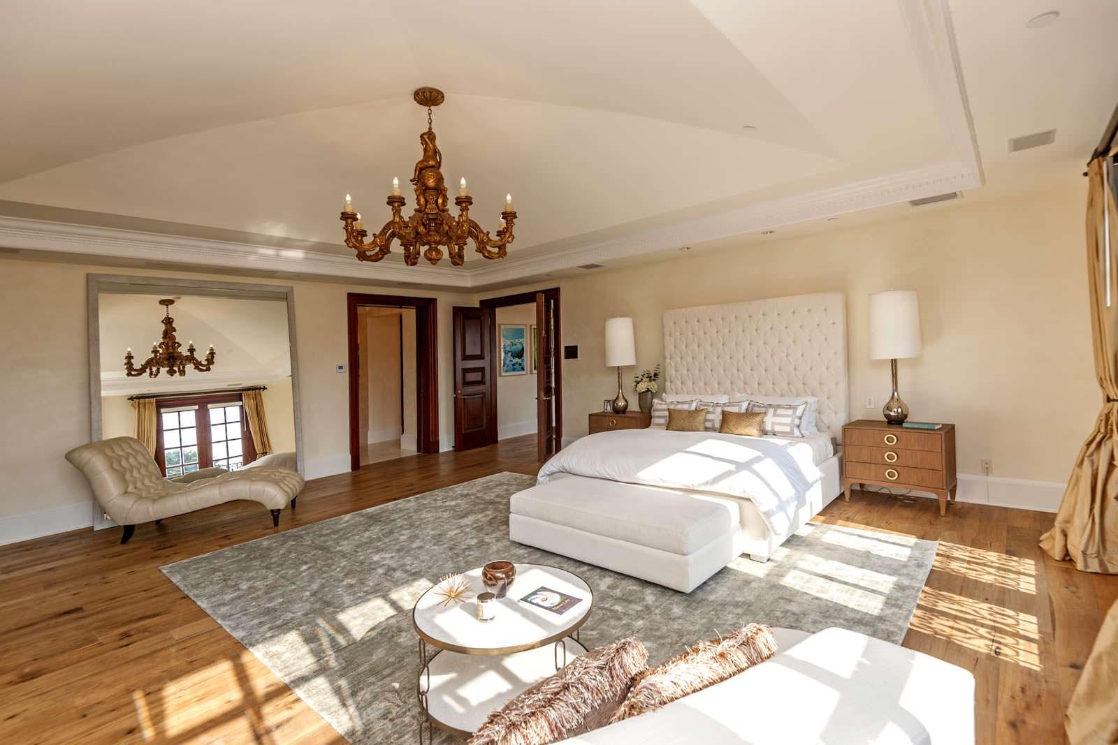 Дизайн шикарной спальни