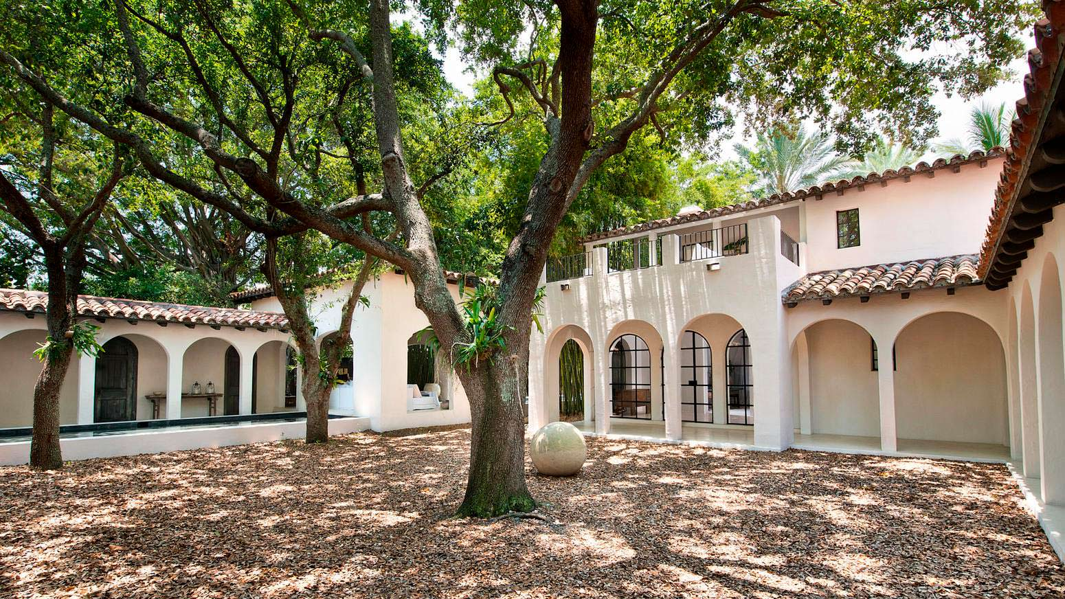 Дом Кельвина Кляйна в Майами