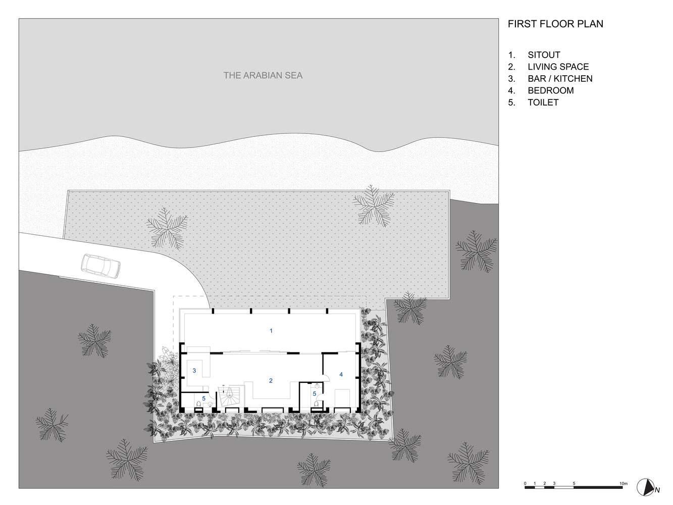 Проект дома со вторым этажом