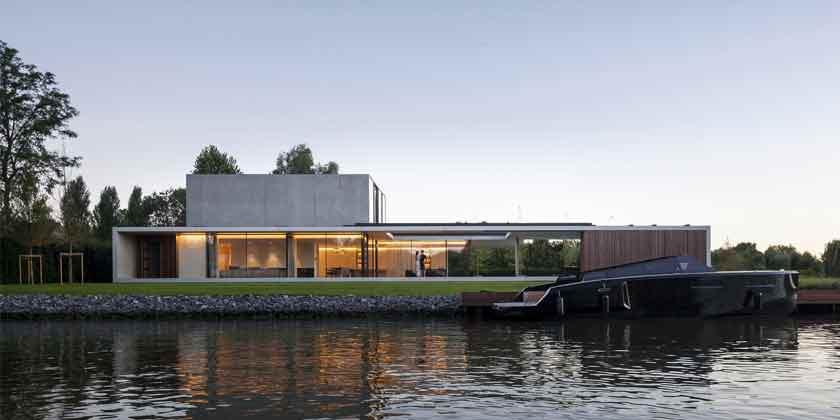 Шикарная вилла у реки в Бельгии Residence VDB
